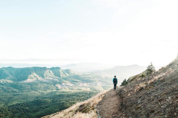 Wanderung, Lebensweg, Berglandschaft